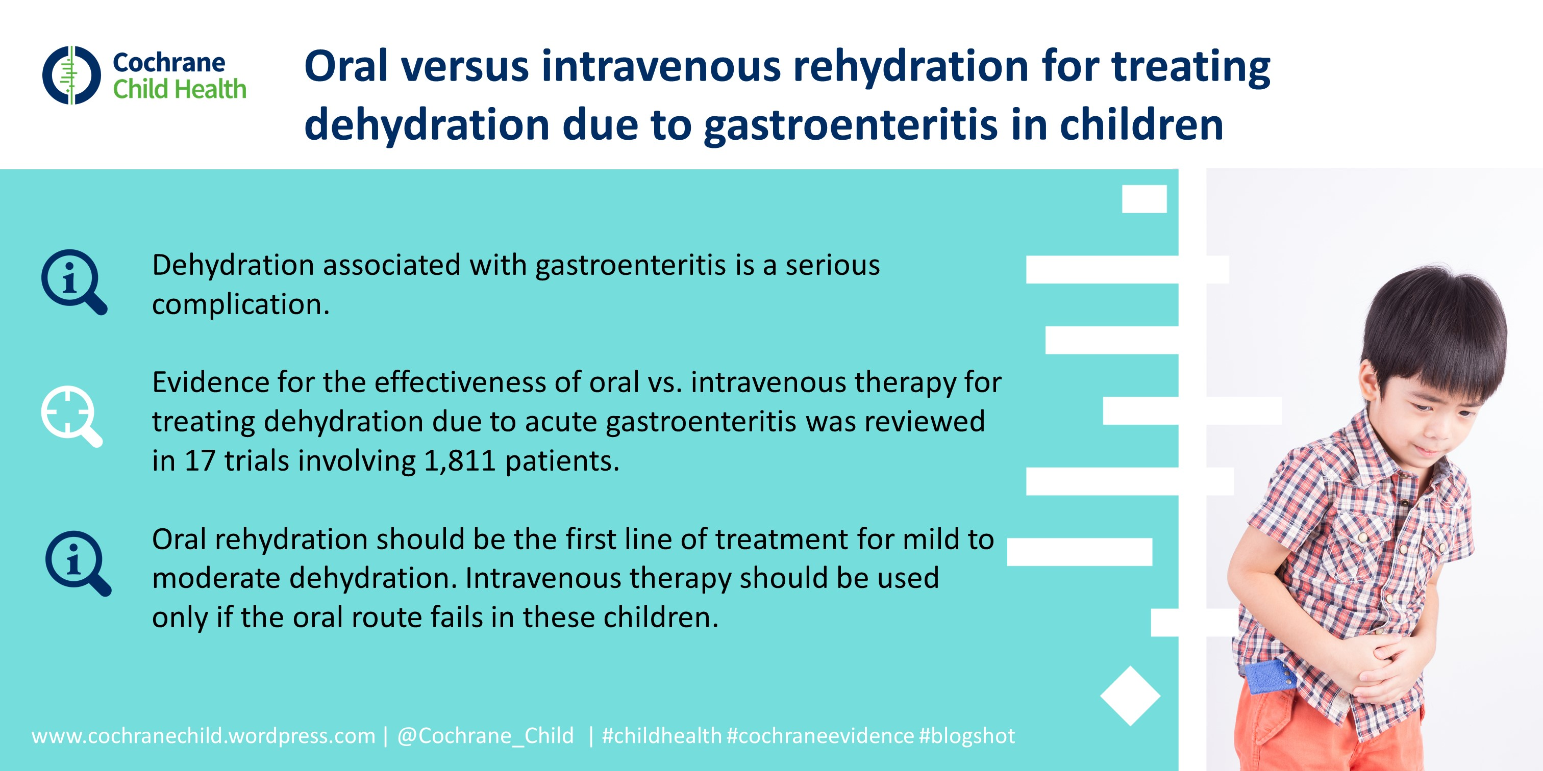 Oral Versus Intravenous Rehydration for Treating Dehydration